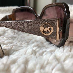Micheal Kors Zuma Sunglasses in Brown